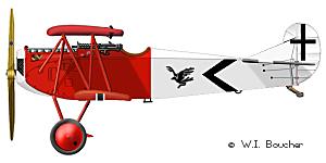 Fokker D.VII - 1918