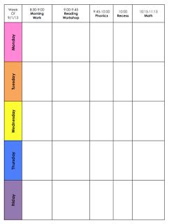 Mrs Riccas Kindergarten Lesson Plans FREEBIE Template - Kindergarten lesson plan template