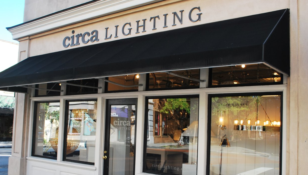 Visit Circa Lighting In Charleston Designer Boutique Showroom