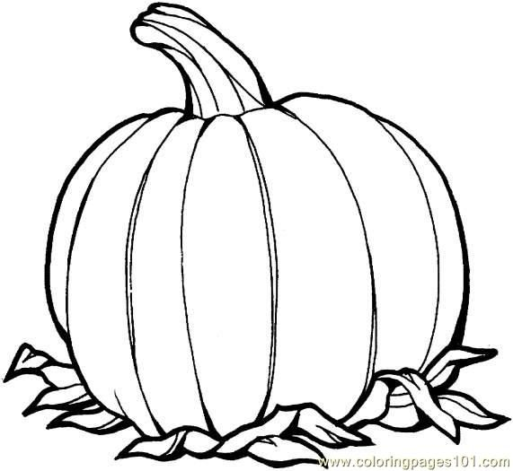 Free Coloring Pages Of Pumpkins Photos