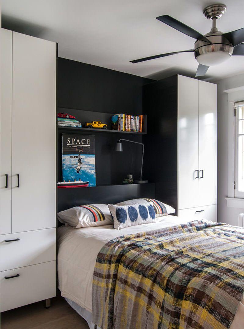 15 Ideias Para Quartos De Adolescentes Bedrooms And Room ~ Armario Modulado Para Quarto E Quarto Vermelho E Branco