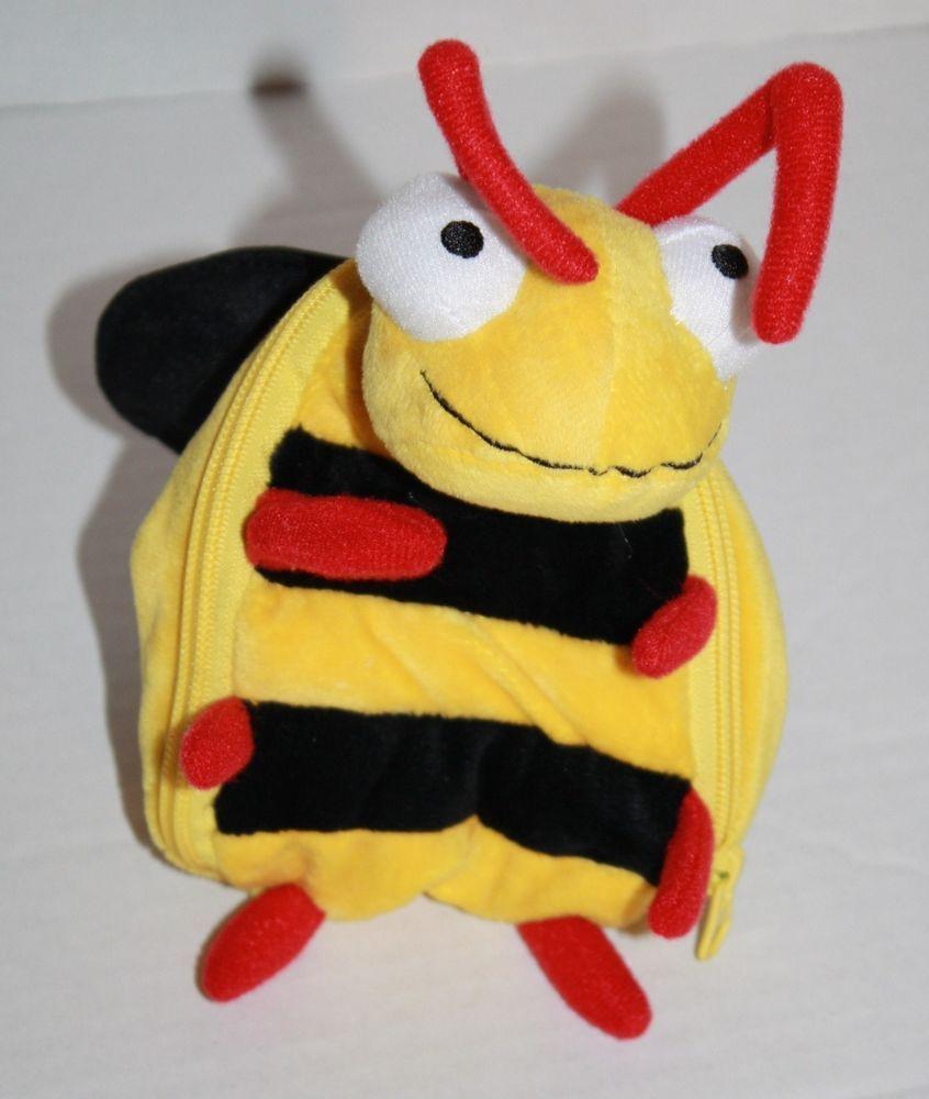 Hallmark Plush Bumble Bee Love Bug Em Gift Card Holder