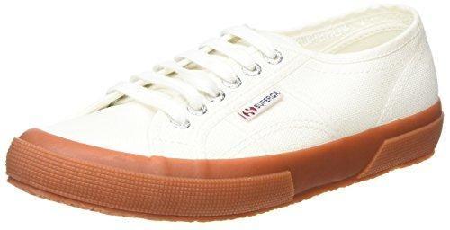 Superga Sneaker 2750 Gum Cotu ClassicHerren Low TopsWeißwhite fb76Ygy