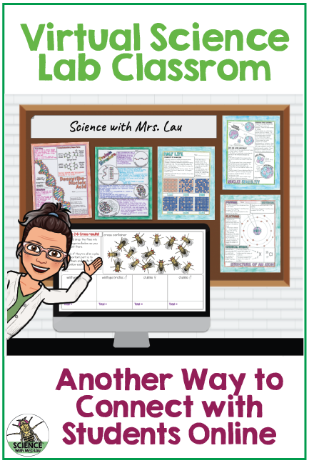 How To Create Your Own Virtual Science Lab Classroom Science And Math With Mrs Lau Learning Science Virtual Classrooms Science Classroom