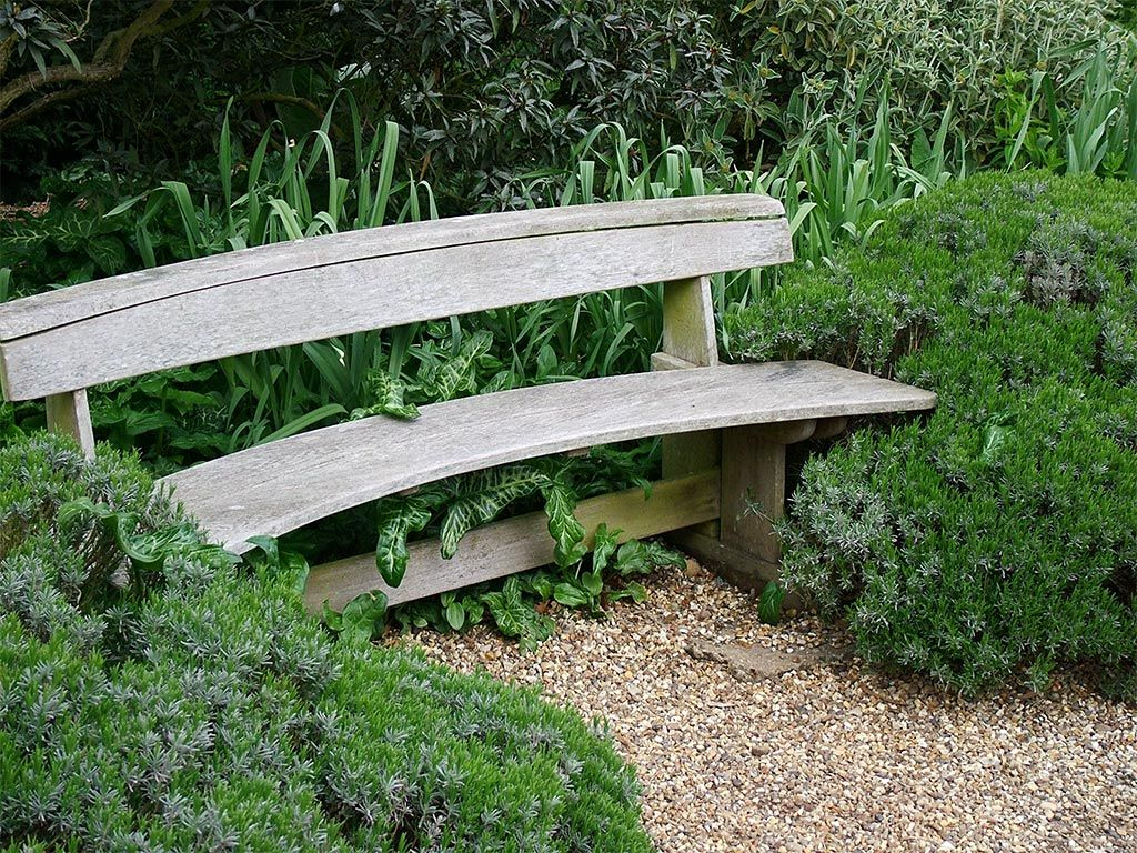 Image Gallery Japanese Garden Bench