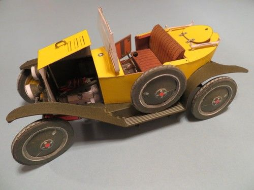 1921 citroen 5 hp type c paper model cars and m 39 cycles for Garage citroen vire 14