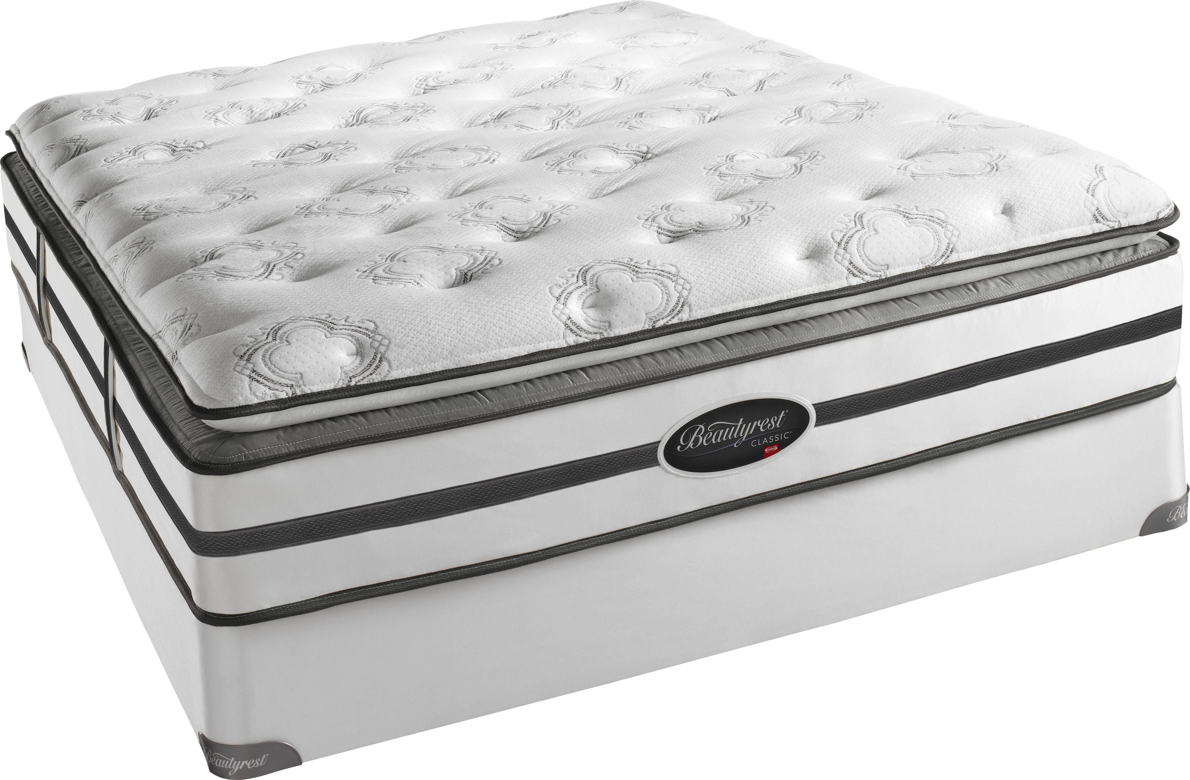 Cuscini Simmons.Beautyrest Classic Mackenzie King Plush Firm Pt Mattress By Simmons