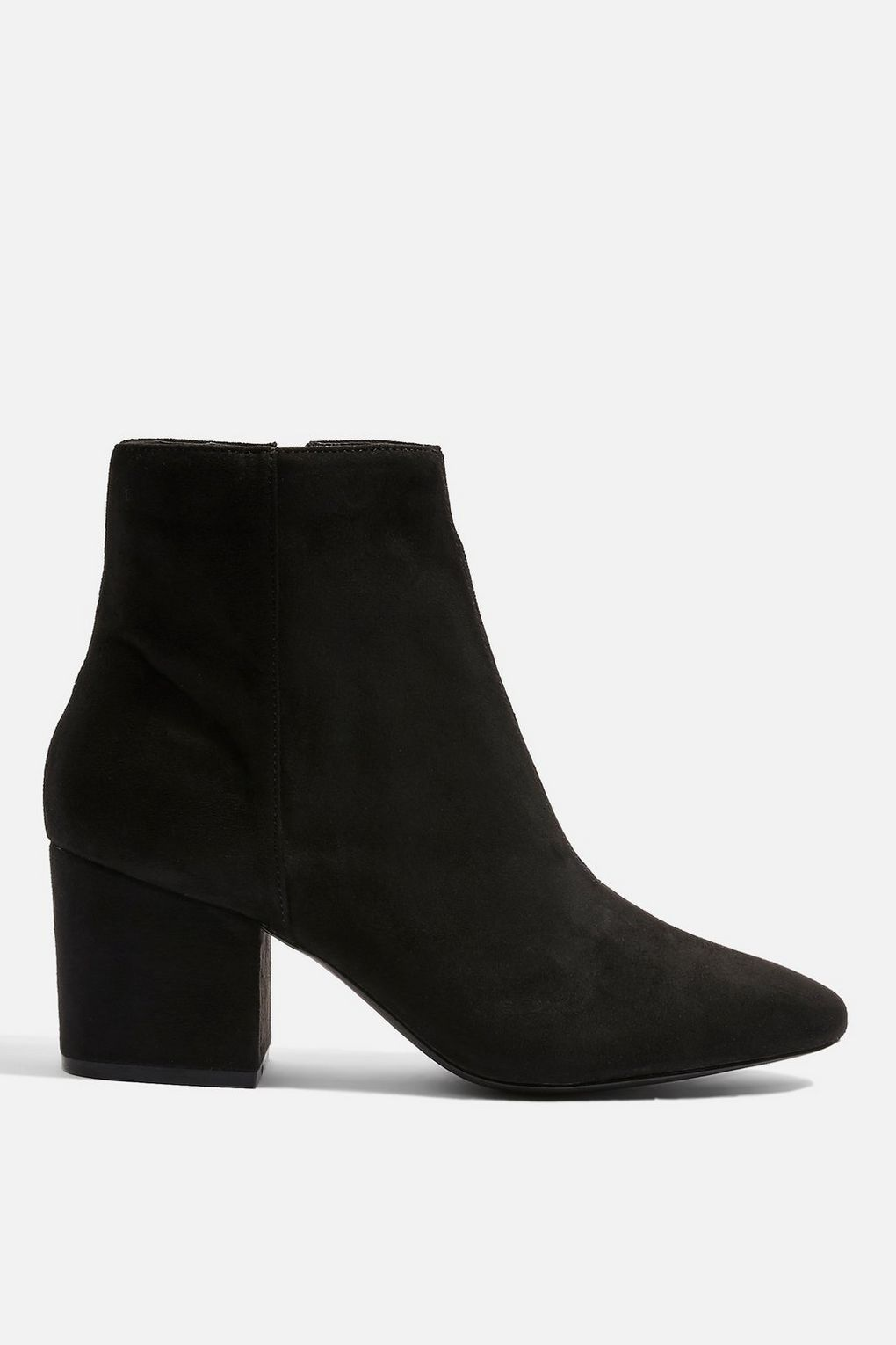 BRANDY Micro Ankle Boots   Boots, Black