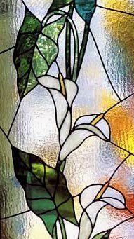 paysage vitraux le vitrail la peinture sur verre. Black Bedroom Furniture Sets. Home Design Ideas