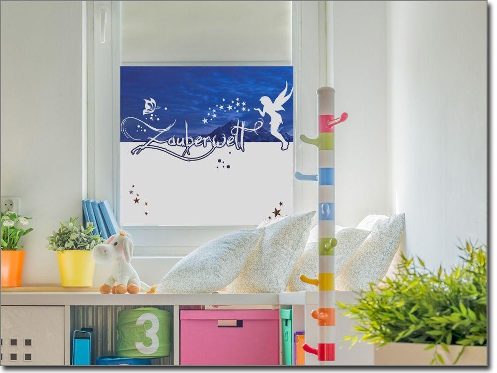 Klebefolie Kinderzimmer ~ Sichtschutz folie für kinderzimmer zauberwelt sichtschutzfolie