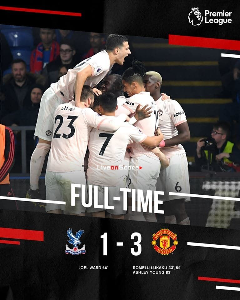 Crystal Palace 1 3 Manchester United Full Highlight Video Premier League 2019 Manchester United Premier League Match Highlights