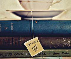 Books & tea, oh happy day!