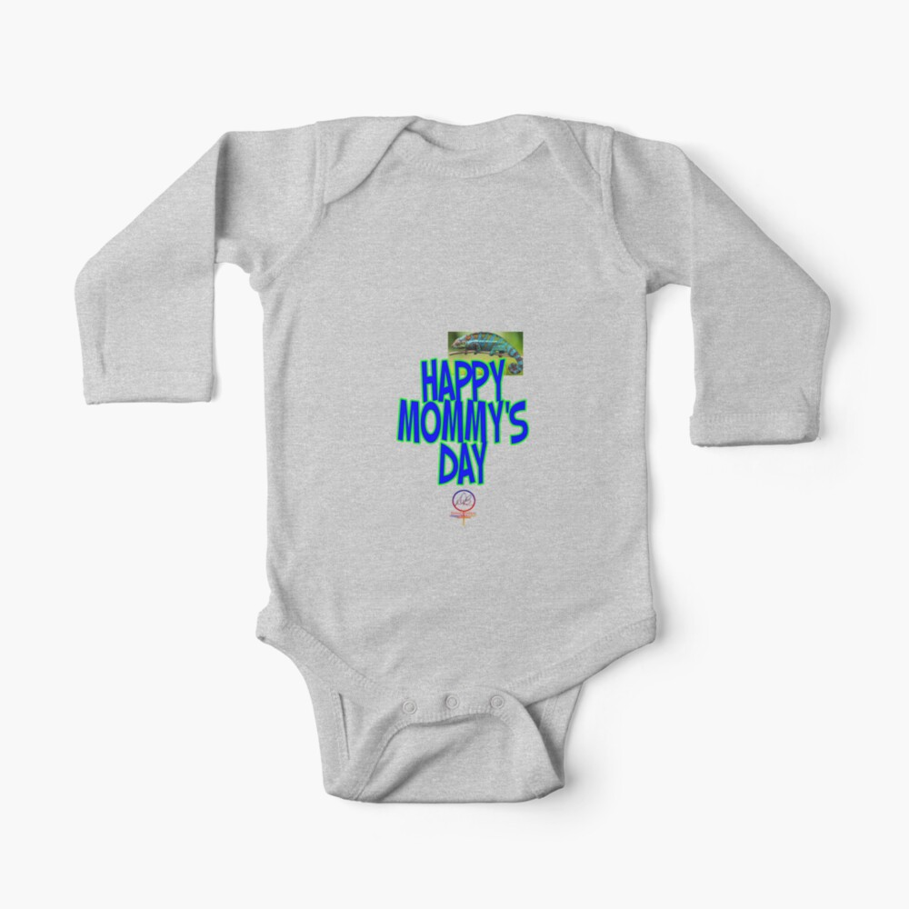 BABYS HAPPY MOTHERS DAY - HAPPY MOMMYS DAY - BOY by HappyWorkT | Redbubble