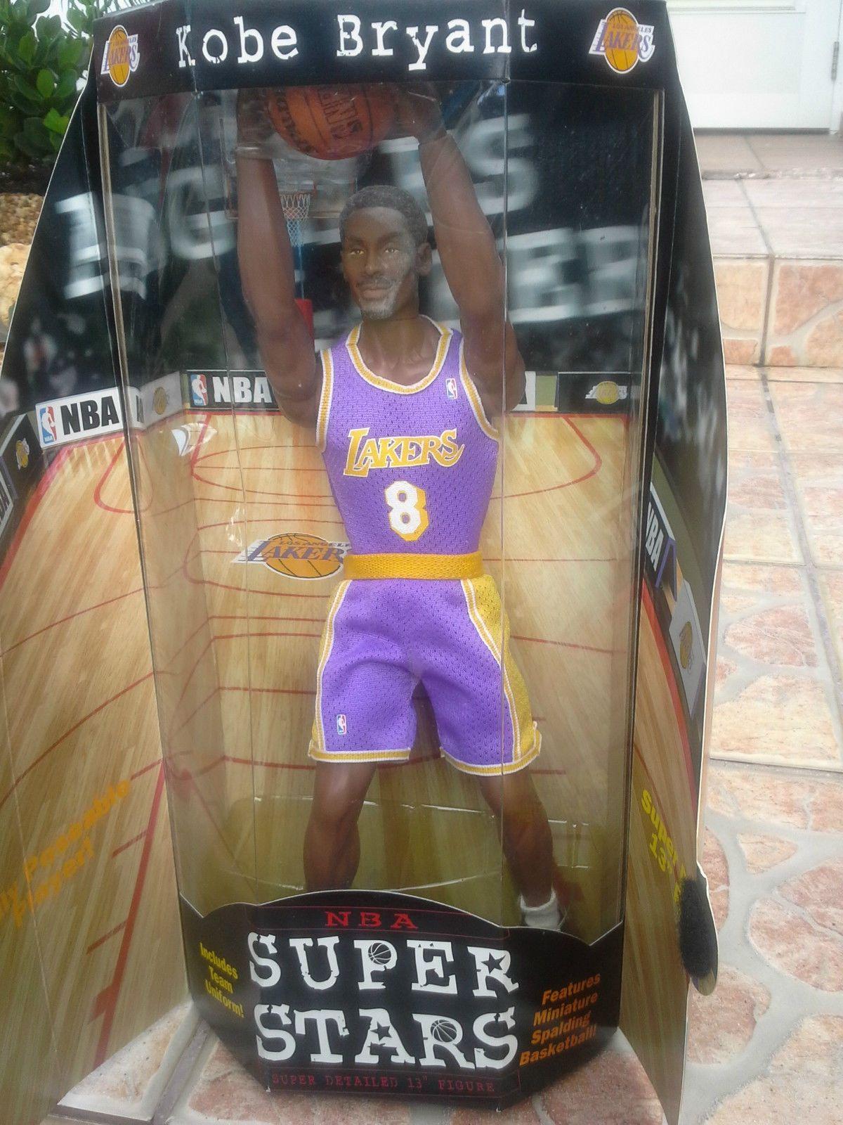 Mattel Nba Super Stars 13 Figure Kobe Bryant Los Angeles Lakers Kobe Bryant Kobe Bryant Nba Los Angeles Lakers