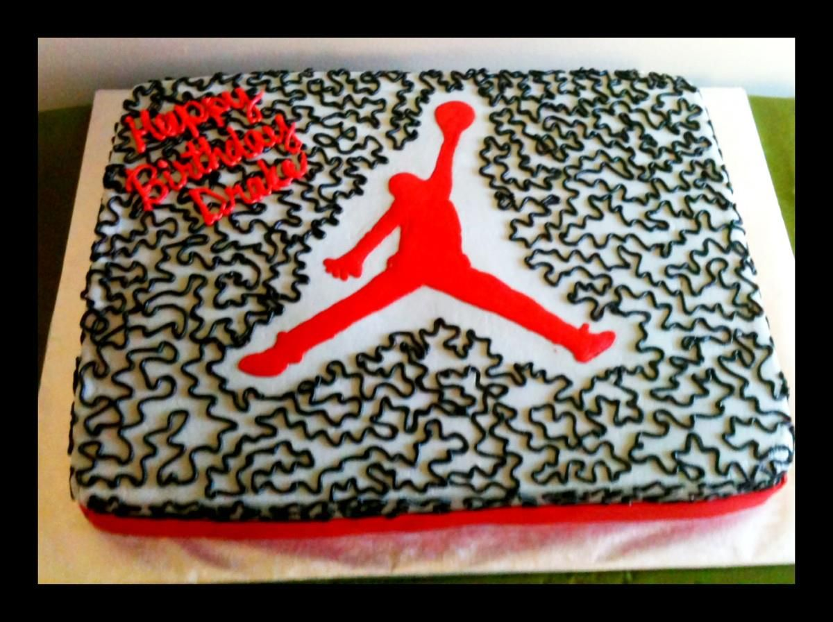 Air Jordan birthday cake Kids Birthday Cakes by Lily Cakes