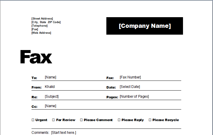 microsoft fax cover sheet template free koni polycode co