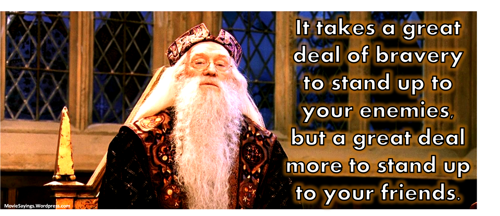 Richard Harris Harry Potter And The Sorcerer S Stone Quotes