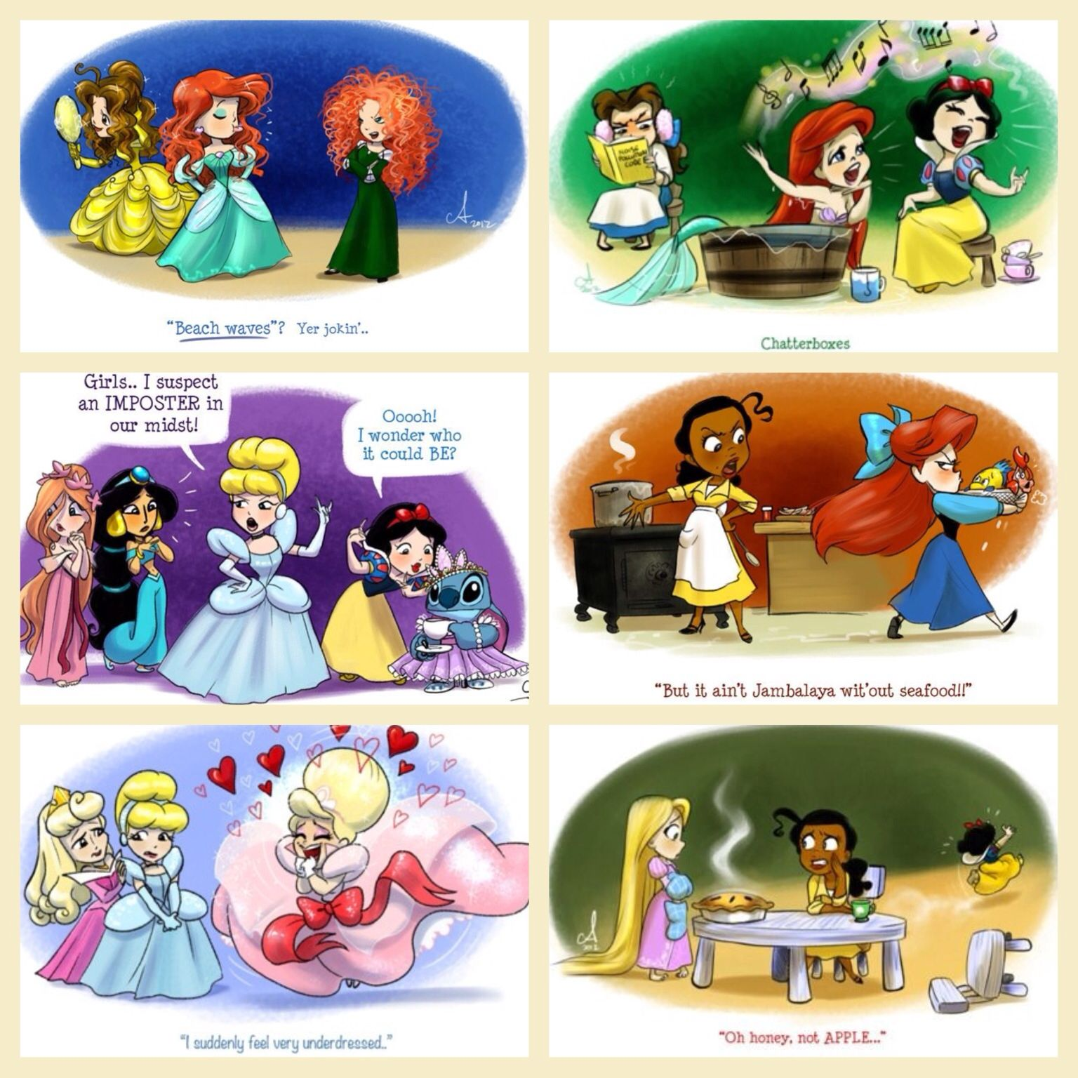 Pocket princesses #pocketprincesses