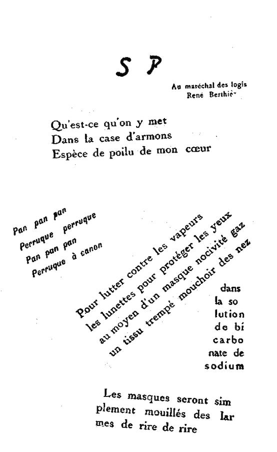 Sp Case Darmons Calligrammes Poèmes De La Paix Et