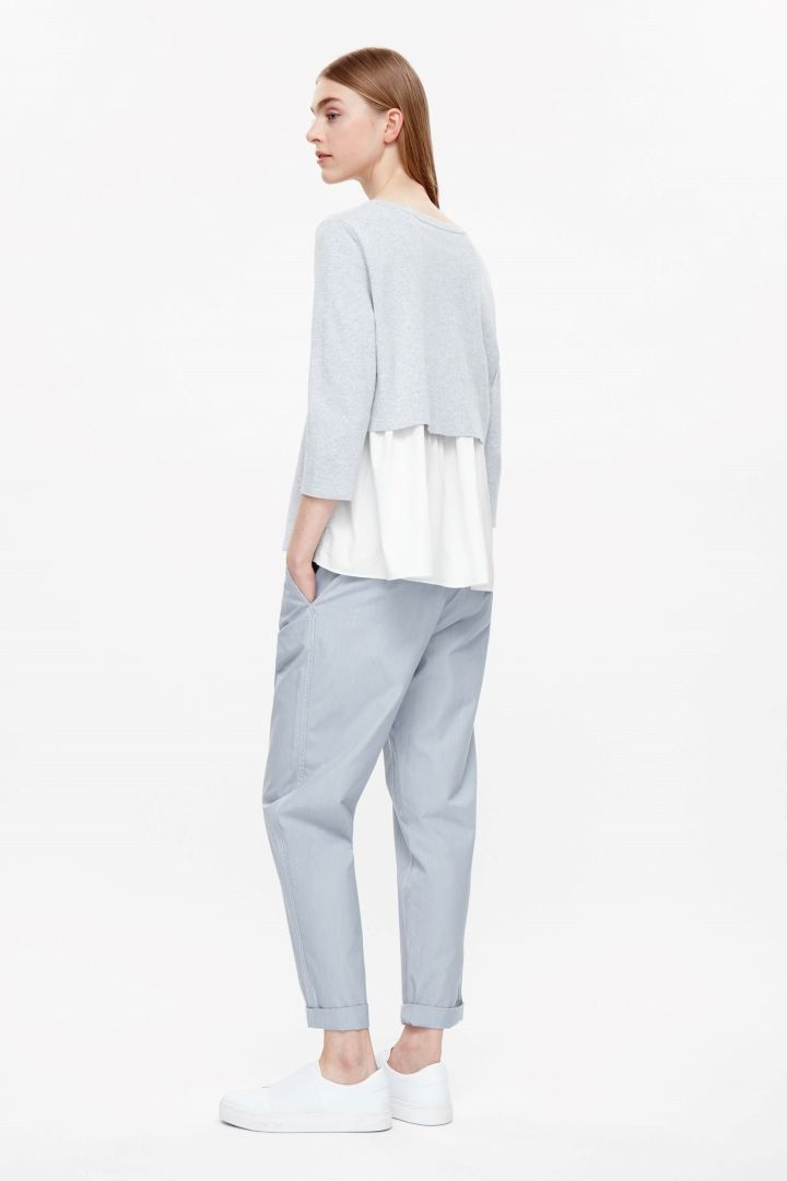 COS Top with layered back