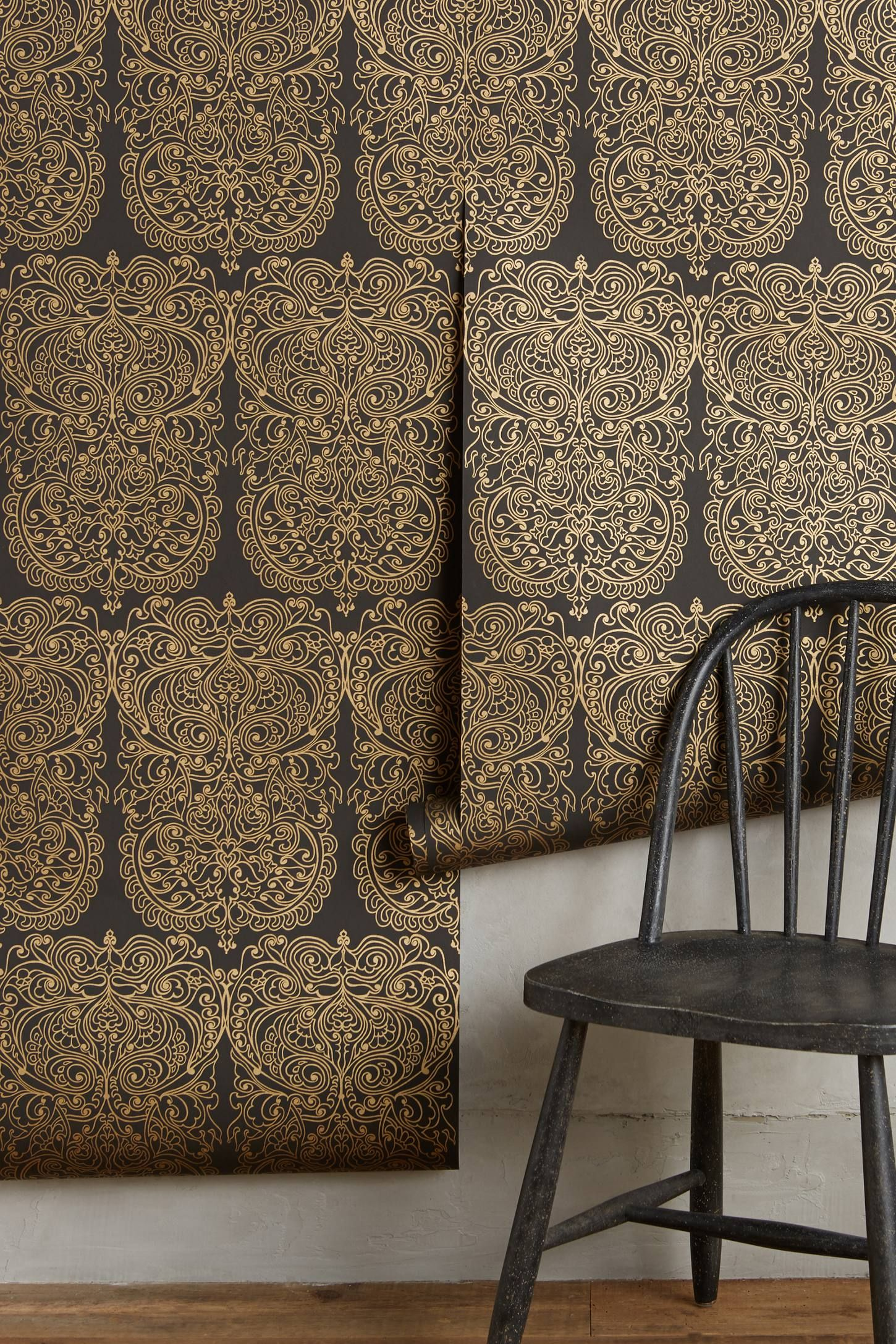 Shop the Alpana Wallpaper and more Anthropologie at