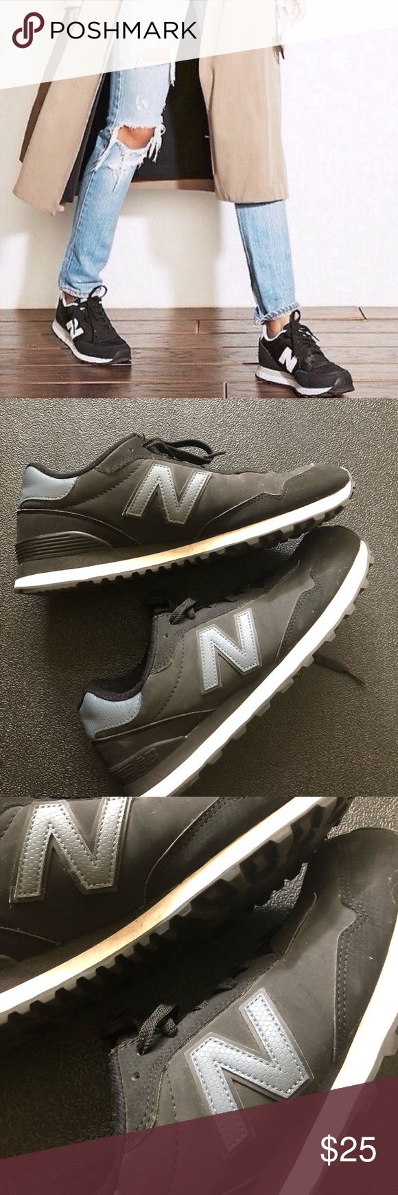 value for money new arrivals best authentic New Balance Shoes | Nb 515 Trainers | Color: Black/White ...