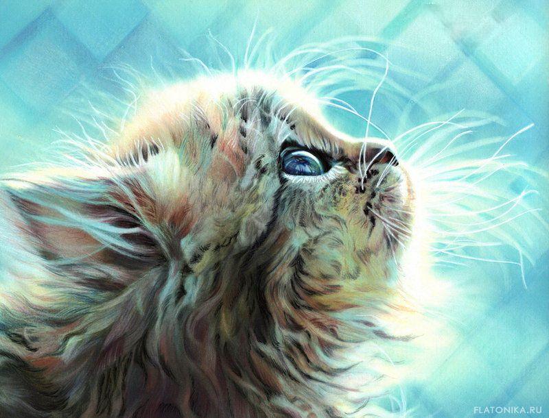 Рисованные картинки животных в высоком качестве