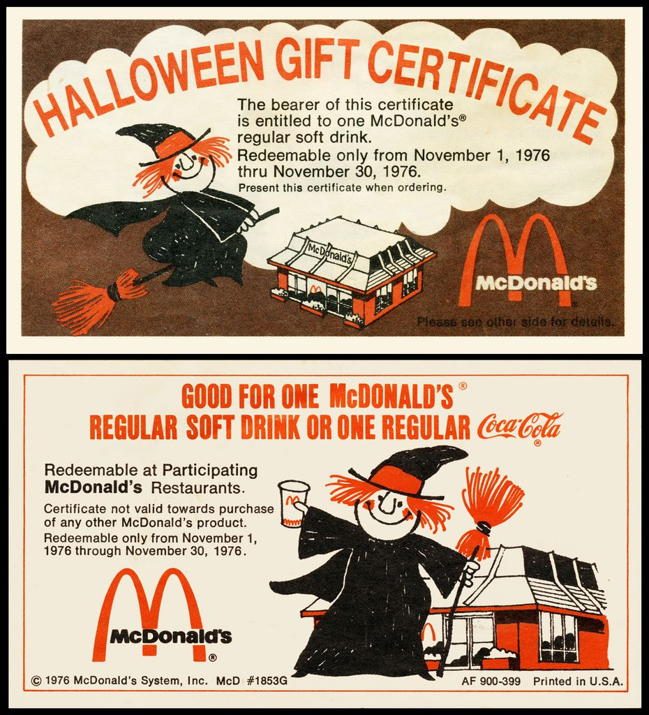 Mcdonalds de coupons