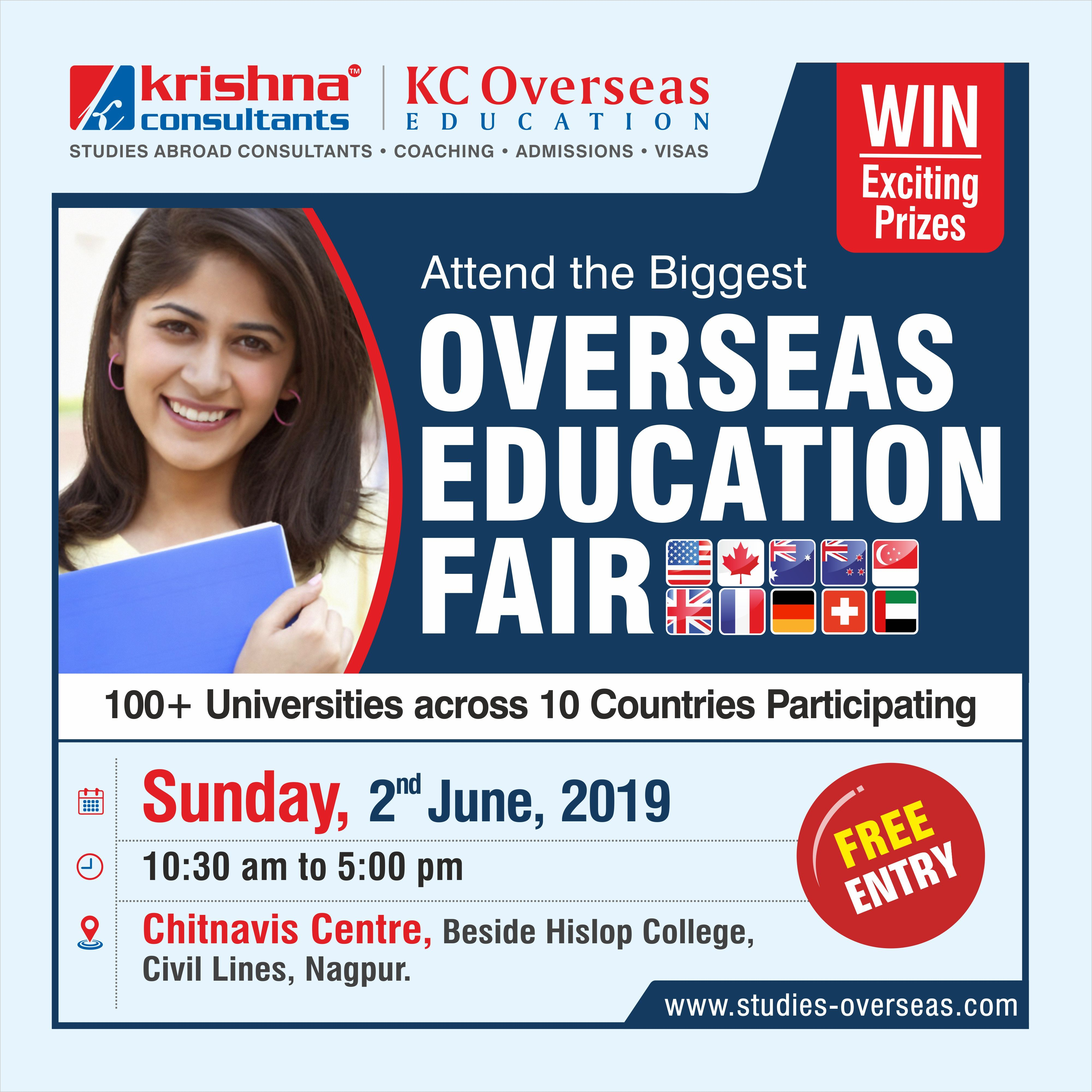Participate in the biggest overseas education fair
