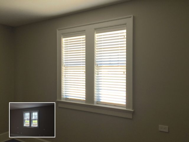 Asap Blinds Before After Pics Of White Wood In A New Home