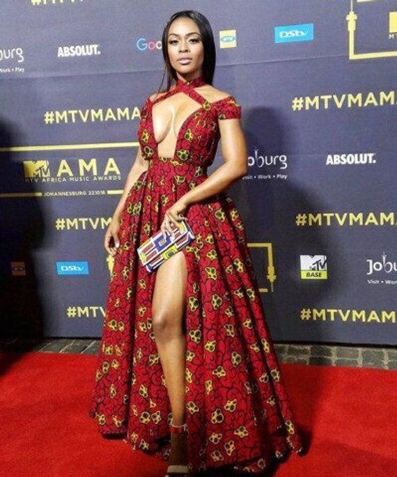 Sexy Ankara Dress #afrikanischemode