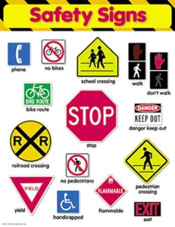 safety signs classroom rules safety pinterest safety classroom rules and school. Black Bedroom Furniture Sets. Home Design Ideas