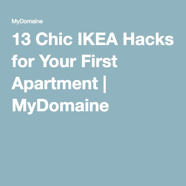 13 Chic IKEA Hacks for Your First Apartment | MyDomaine