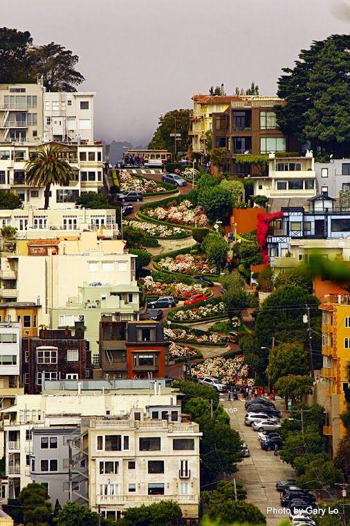 Lombard Street-Gary Lo Photos San Francisco Bay Area Photography