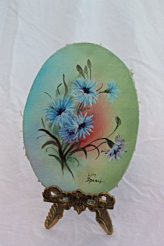 Painting Floral Oil by ATreasuredKeepsake on Etsy, $45.00