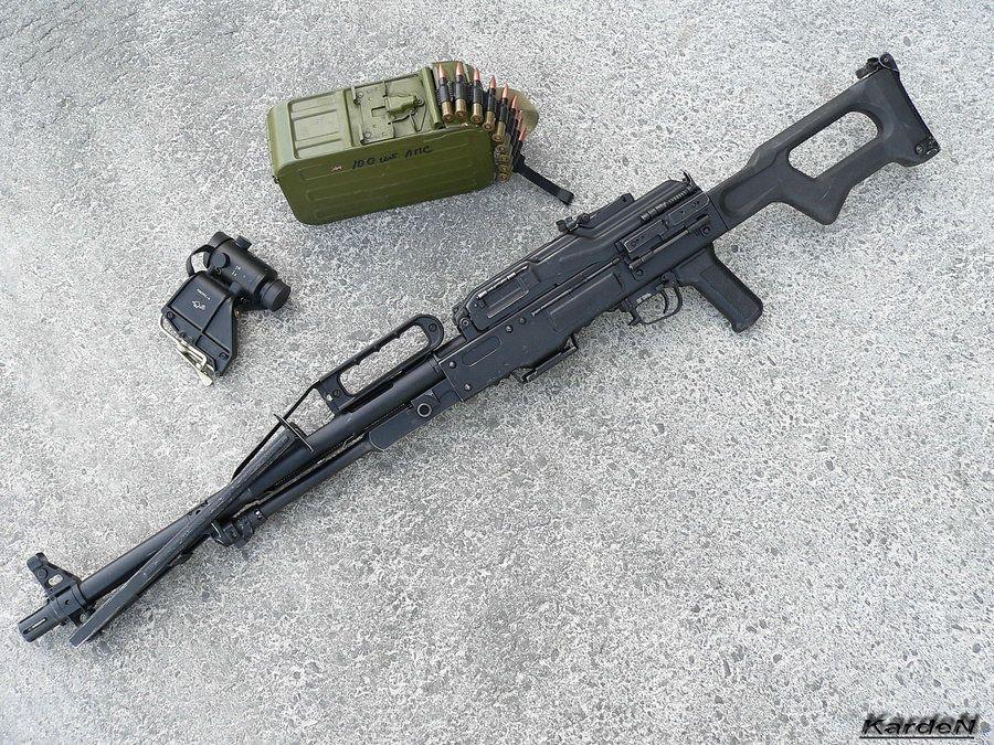 machine gun weight