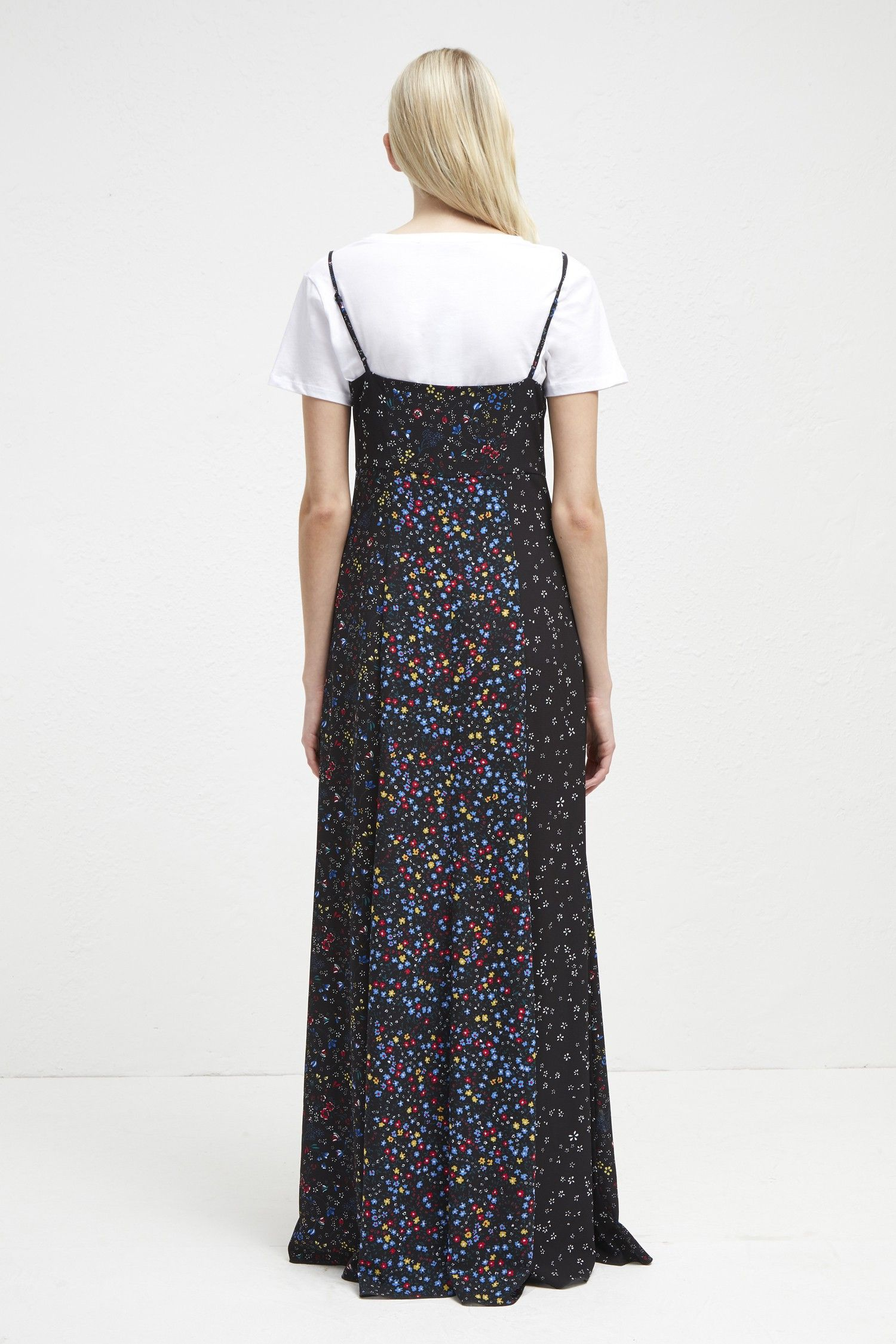 901798c232a French Connection Aubine Fluid Floral Strappy Maxi Dress - 0 ...