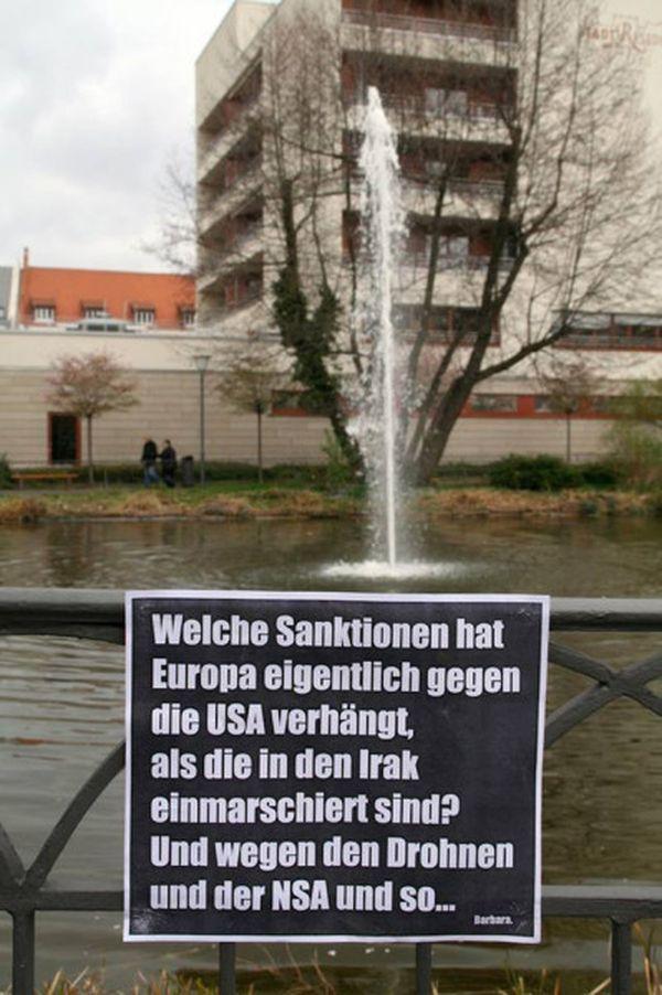 Barbara S Plakate Gegen Verbote Hinweise Werbung Und Idioten