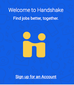 Make A Connection With Over 250 Thousand Employers Handshake Is A Great Tool To Help Students Get That Job Or Internsh Internship Career Management Find A Job