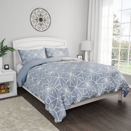 Comforter Set With Exclusive Stargaze Design 3 Piece Full Queen