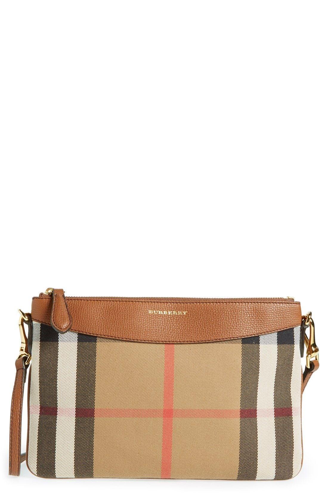 abbd7f9aa548 New Burberry Peyton - House Check Crossbody Bag fashion online.    625   shop.seehandbags