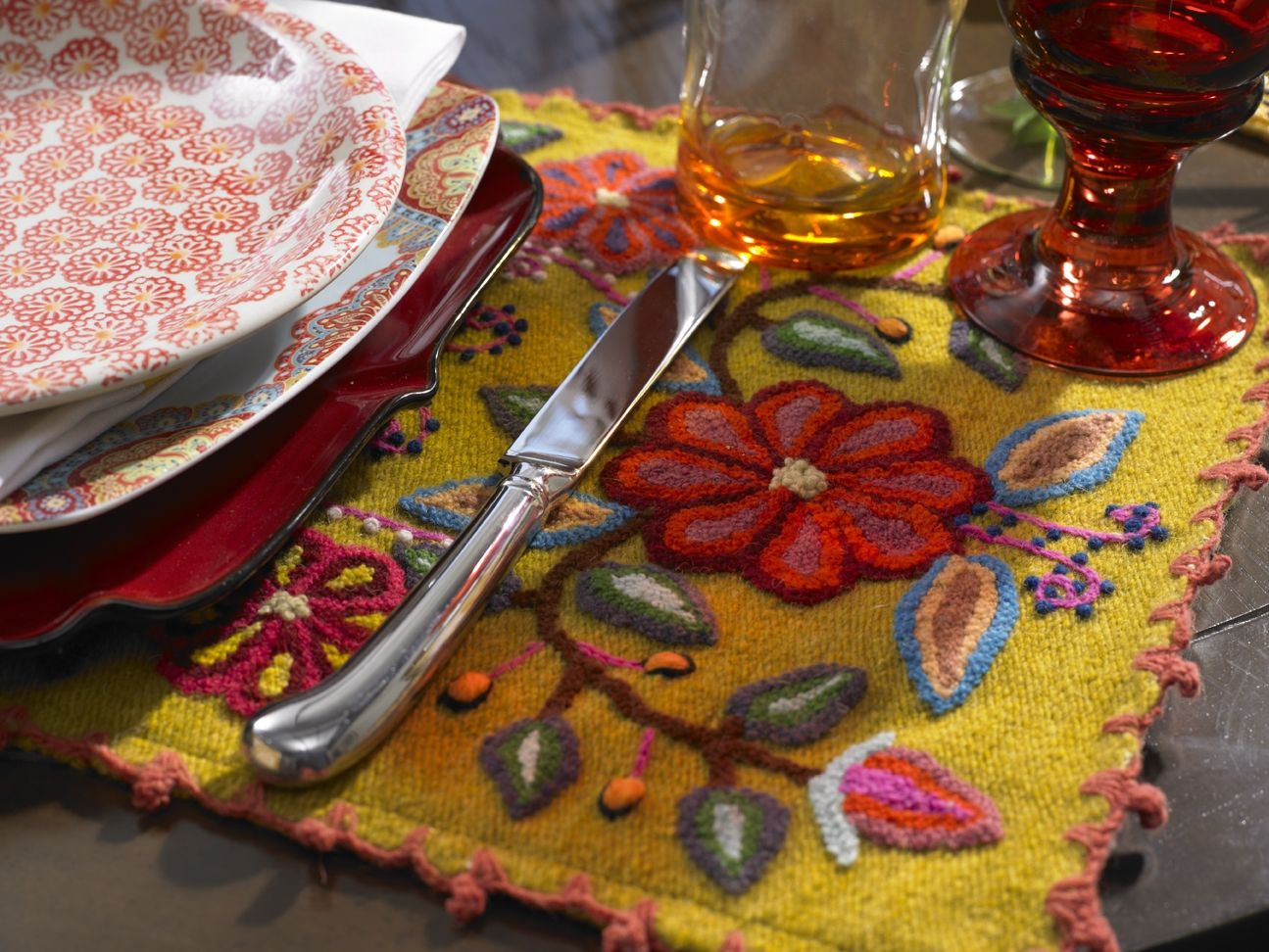 Gorgeous Bohemian embroidered placemat. | My Dream Home | Pinterest on kitchen kitchen, kitchen vases, kitchen glassware, kitchen mirrors, kitchen trays, kitchen tablecloths, kitchen silverware, kitchen glasses, kitchen clothing, kitchen stationery, kitchen food, kitchen cushions, kitchen utensils, kitchen crafts, kitchen photography, kitchen napkins, kitchen pitchers, kitchen pillows, kitchen boxes, kitchen cutting boards,