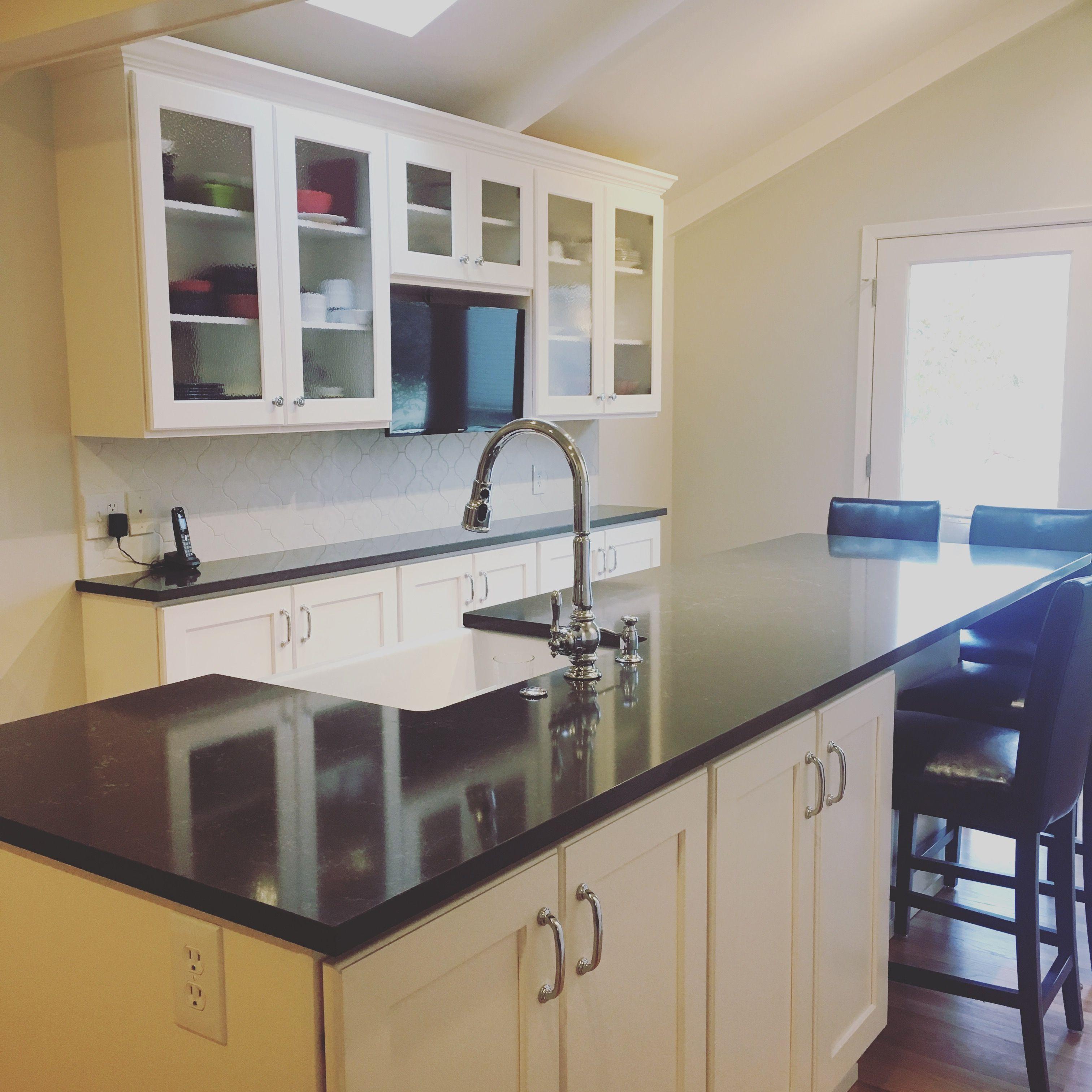 Best Kitchen Remodel Pental Cinza Counters Kohler Artifacts 640 x 480