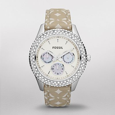 WATCHSTATION® Shop Fossil Womens Watches:Fossil Stella Signature Nylon Watch ES3053