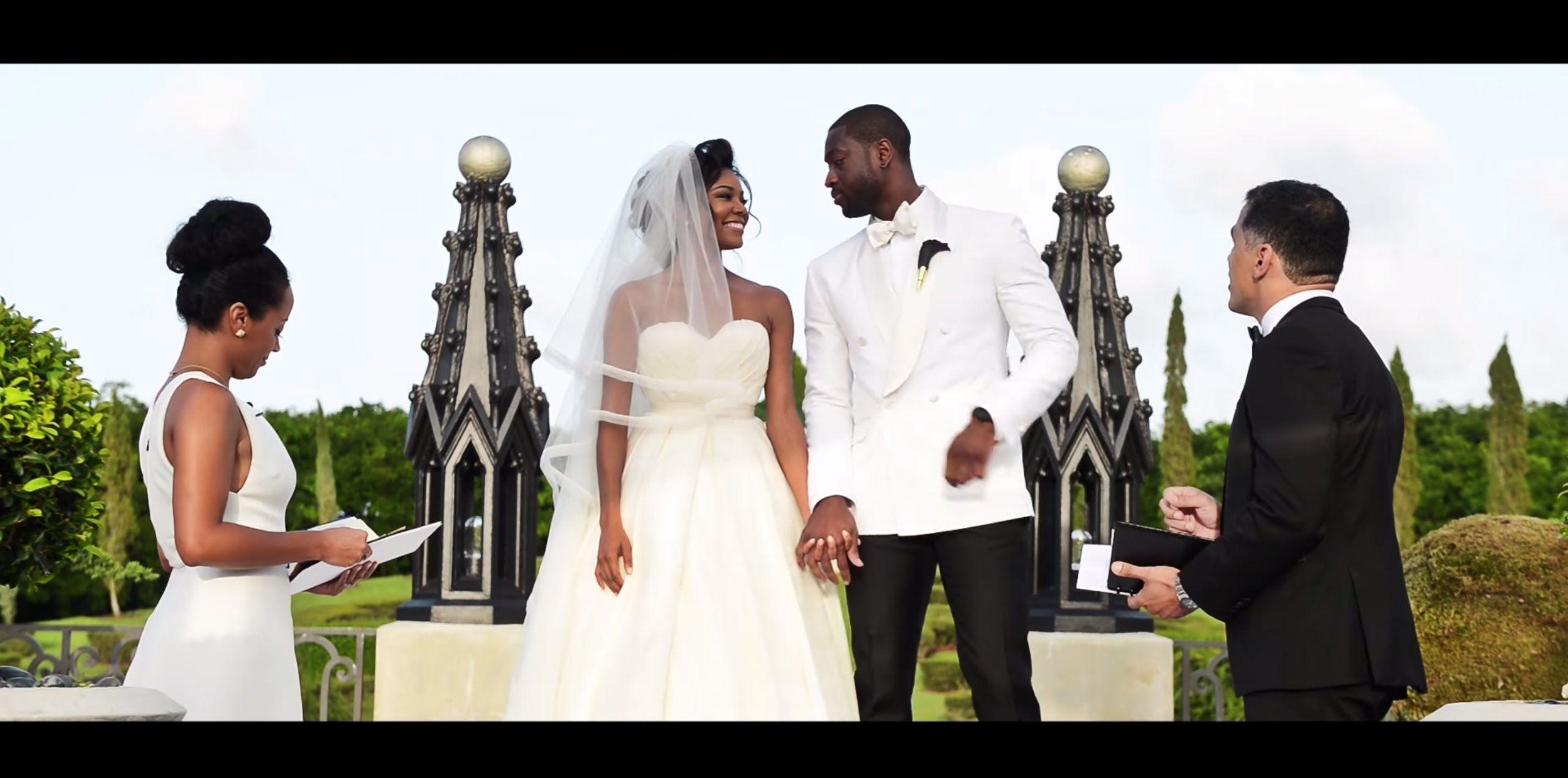 Gabrielle and dwyane wade full wedding video cinematography tips gabrielle and dwyane wade full wedding video junglespirit Choice Image
