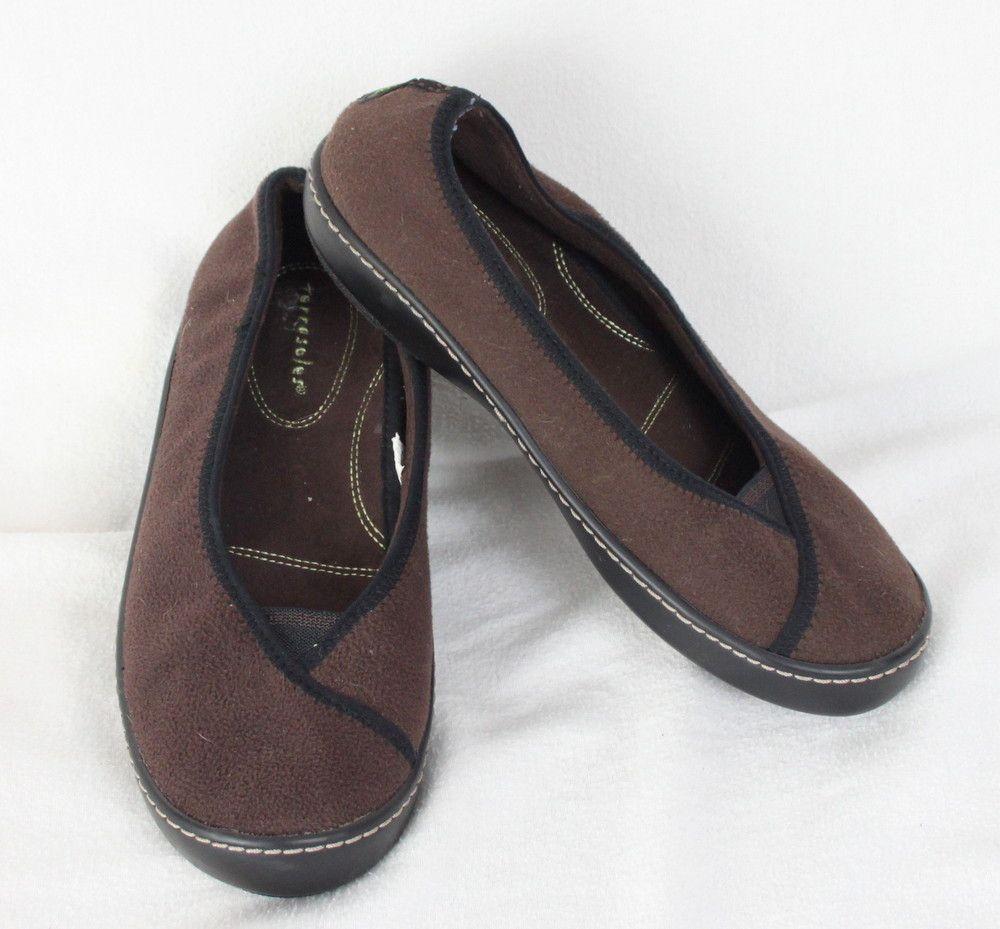 ecdecd545972c Womens terrasoles size brown fleece slip on ballerina comfortable shoes  moccasin jpg 1000x929 Terrasoles slip terasoles