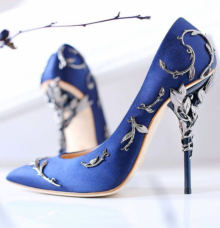 Best 25+ Royal blue pumps ideas on Pinterest