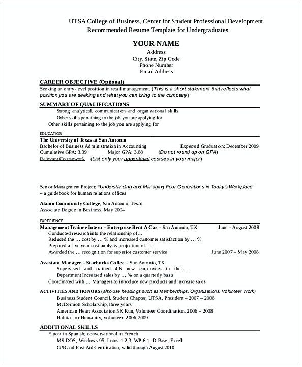 Entry Level Retail Manager Resume , Retail Manager Resume Examples ...