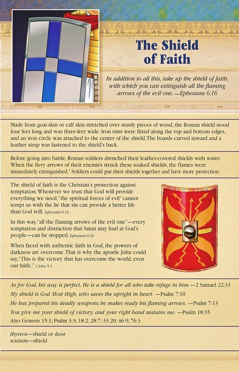 The Armor of God, Pamphlet | Warfare | Bible scriptures, Prayer