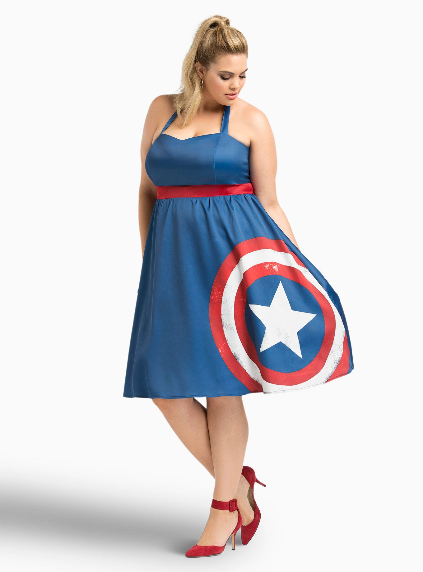 17+ Captain marvel dress torrid inspirations
